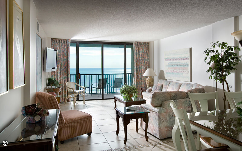 Oceanfront Three Bedroom Two Bath Condo