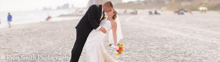 Oceanfront Myrtle Beach Wedding