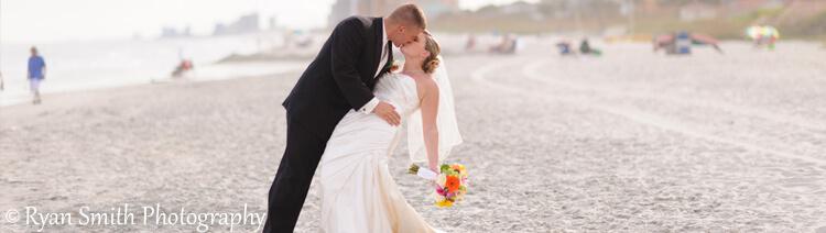 Oceanfront Myrtle Beach Wedding